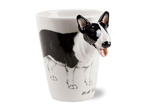 Un Regalo de Bull Terrier, Taza de Café Hecho a Mano por Blue Witch