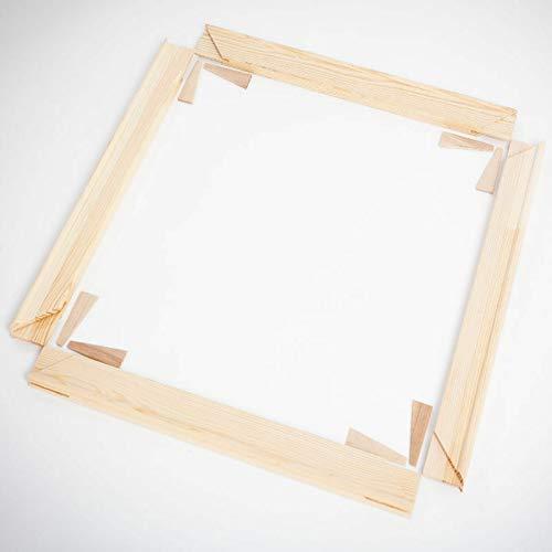 Keilrahmen Bausatz Holzleisten Set selbst zusammenbauen 2cm Stärke (40x50)