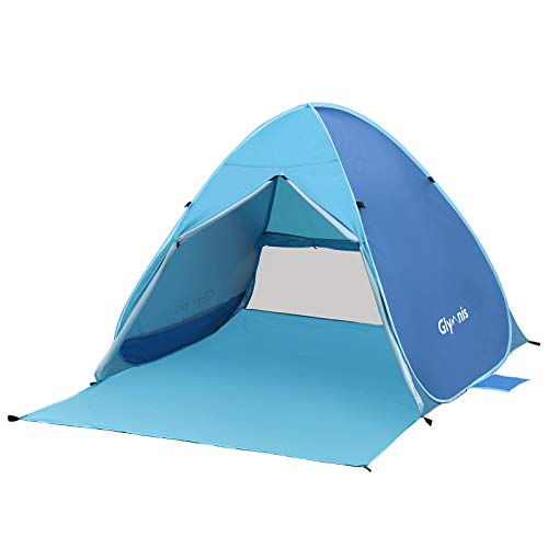 Glymnis Tente de Plage Pop-up Portable 2-3...