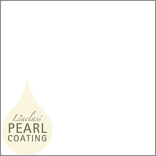 Georcea tafelkleed met parelcoating (waterafstotend) | wegwerptafelkleed tafelkleed | 80 x 80 cm | 15 stuks