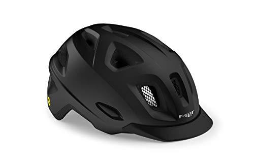 MET Urban Mobilite MIPS - Casco de ciclismo (talla M), color negro