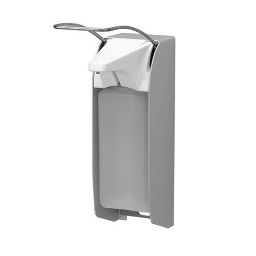 All Care 21415993 Desinfektion/Seifenspender LH Aluminium, ingo-man plus Version, 1000 ml
