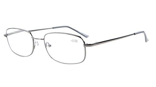 Eyekepper brug-flex-geheugen, titanium voor dames en heren, veerscharnieren, leesbril