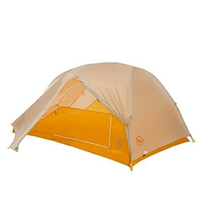Big Agnes Tiger Wall Ultra Light Tent, Light Gray/Gold, 2 Person