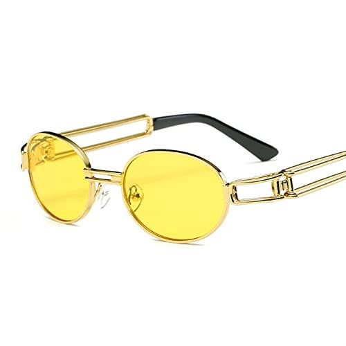 Teampunk gafas de sol góticas planas top gafas redondas retro hombres y mujeres de lujo diseñador de marca de lujo vidrios de lentes transparentes UV400 Gafas de sol polarizadas Hombres geniales para