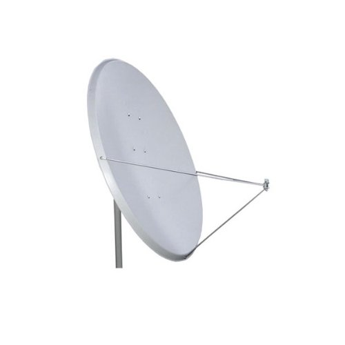 PremiumX Antenne PXA125 Aluminium 125 cm, Digital Sat Schüssel Spiegel in Hellgrau FULLHD HDTV 3D Tauglich NEU
