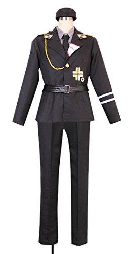 Dreamcosplay Anime Hetalia: Axis Powers Prussia Military Uniform Cosplay