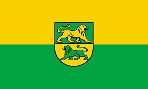 Unbekannt magFlags Tisch-Fahne/Tisch-Flagge: Dürmentingen 15x25cm inkl. Tisch-Ständer