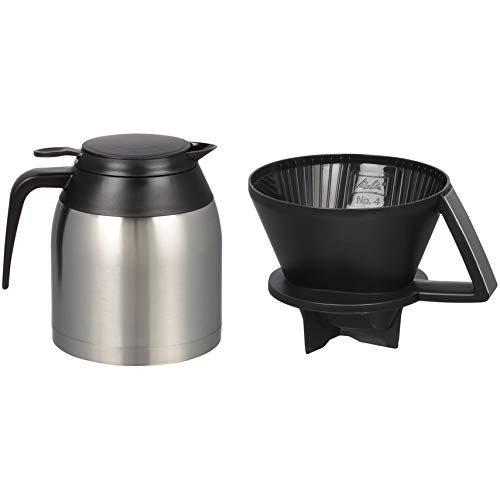Melitta 60 oz. Pour Over Coffee Brewer with Stainless Steel Thermal Carafe