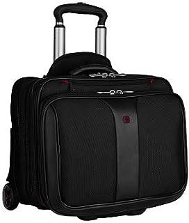 Wenger 600662 Patriot 2-Piece Business Set with Removable Laptop Slimcase, Black