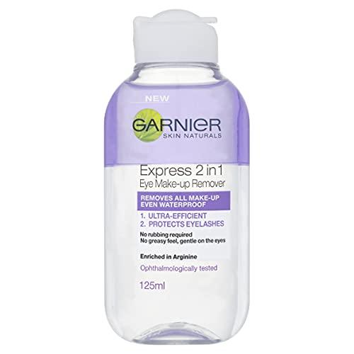 Garnier Skin Naturals 2in1 Eye Make Up Remover 125ml, Suitable For...