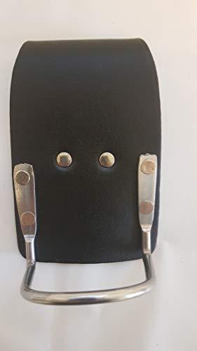 BBI - Soporte para martillo de acero para andamios, color negro