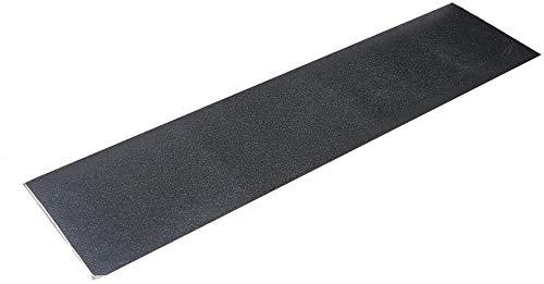POFET Hoja de cinta de agarre para monopatín, 33 x 9 pulgadas, sin burbujas, impermeable, cinta de agarre negra para monopatín, cinta de agarre de tabla larga, papel de lija para patineta(84 x 23 cm)