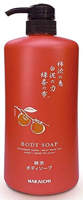 効率渇き敵柿渋液体ボディソープ