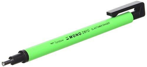 Tombow Mono Zero–Gomma di precisione punta rotonda, colore: verde Neon