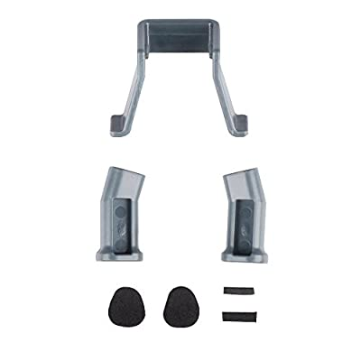 MyArmor Heightened Lengthened Extended Landing Gear Support Safe Landing Bracket Protector Guard for DJI Mavic Pro Drone, Grey