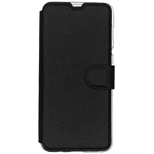 Accezz Funda compatible con Samsung Galaxy A50/A30s – Xtreme Impact Wallet Case – Funda para teléfono móvil en negro [protección contra caídas hasta 3 m, 2 ranuras para tarjetas]