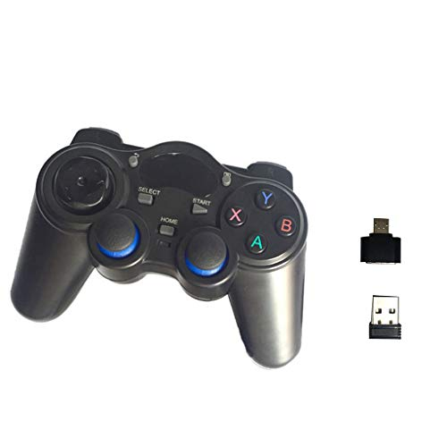 Rong 2.4G Wireless Gamepad Controller Gaming Controller per Telefono cellulare/Smart TV/PC/laptop/Computer Computer Computer Set-Top Box con convertitore OTG mobile