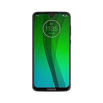 Motorola Moto G7  64GB 4GB RAM  Dual SIM 6.2  4G LTE  GSM Only  Factory Unlocked Smartphone International Model XT1962-4 No Warranty  Ceramic Black