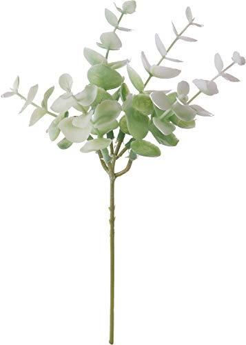 ポピー(Popy) 造花 ユーカリピック ホワイトグリーン 全長20cm・幅11cm FG-4935W/G