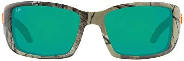 Costa Del Mar Men s Blackfin 580G Polarized Round Sunglasses Realtree Extra Camo Copper Green product image