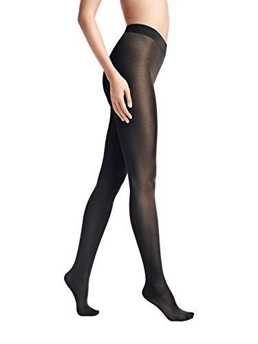 Wolford Damen Pure Shimmer 40 Concealer Tights, Struempfe durchsichtig durchscheinend,7005 black,Large (L)