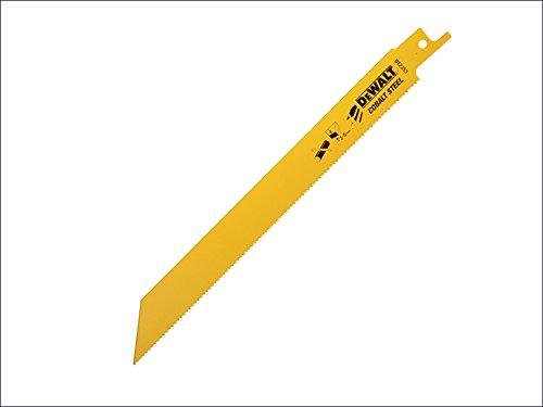 DeWalt - Hoja de sierra bimetálica de corte rápido en metal y chapa de metal, 203 mm, paquete de 5