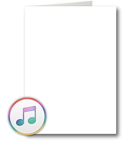 Biglietto di auguri audio con connessione USB e 8...