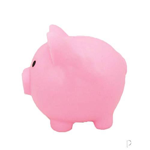Kassa MYKK Cartoon Varken Vormige Spaarpotten Kinderen Speelgoed Verjaardagscadeau Woondecoratie Spaarpotten 10 * 9.5 * 8cm S roze