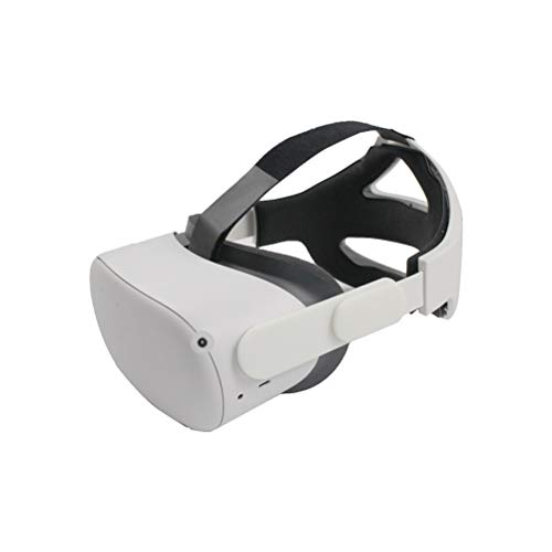 Adjustable Head Strap for Oculus Quest 2, Enhanced Support and Comfort in VR,Reduce Head Pressure,Ergonomic Comfortable Head Strap with Length 20-26cm, Width 21cm, Height 12cm