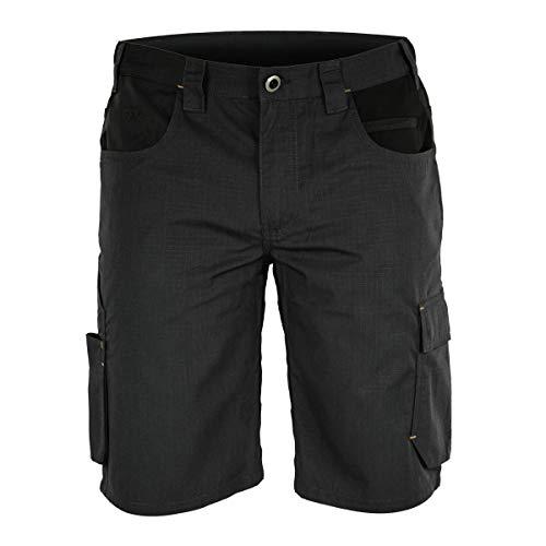 FORSBERG Braxa Kurze Arbeitshose mit elastischen Stretchzonen, robuste Shorts mit Stretcheinsätzen, Farbe:anthrazit/schwarz, Größe:58