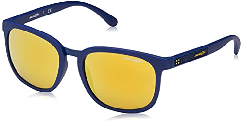 Arnette 0AN4238 2494N0 55 Occhiali da Sole, Blu (Orange), Uomo