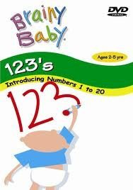 Brainy Baby 123 s DVD  2006  Ages 2-5yrs
