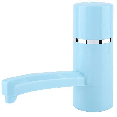 Waterflespomp, USB opladen automatische drinkwaterpomp, draagbare draadloze oplaadbare fles drinkwater Elektrische pomp drankautomaat (blauw)