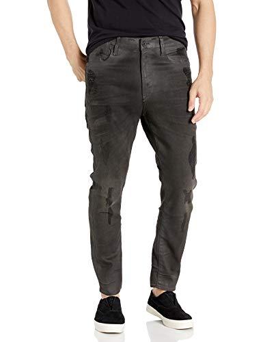 G-STAR RAW Herren Type C Back Zip 3D Super Slim Jeans - Blau - 31W / 34L