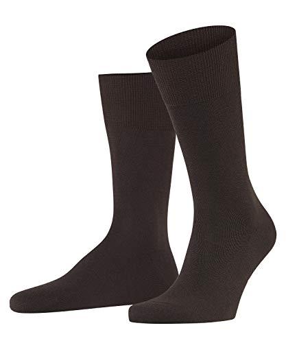FALKE Herren Airport M SO Socken, Blickdicht, Braun (Brown 5930), 39-40 (2er Pack)