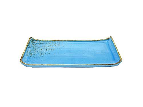Creatable 20049 BBQ Platte Blue/Blau Nature Collection 33 x 16,5 cm