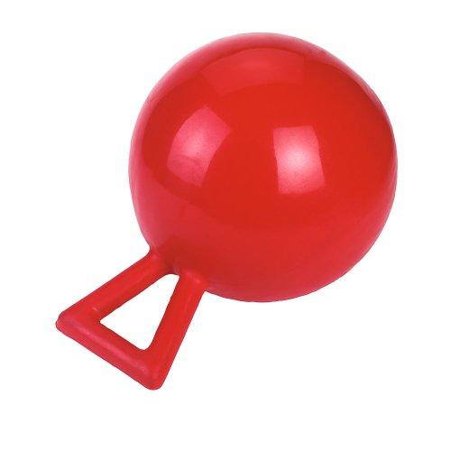 Kerbl 32398 speelbal paarden, rood, 25cm