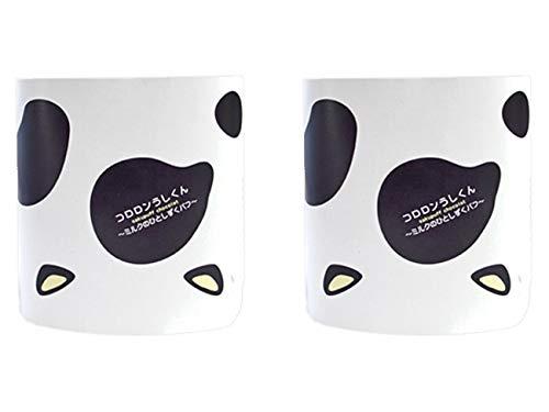 コロロンうしくん〜ミルクのひとしずくパフ〜(8枚入×2個)牛柄の愛らしい箱に入った個包装のミルクパフです。ホワイトチョコレートと香ばしいパフは相性抜群。
