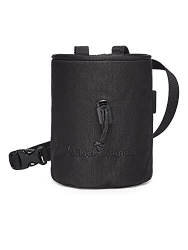 Black Diamond Mojo Chalk Bag, Chalkbag Unisex – Adulto, Black, Medium/Large