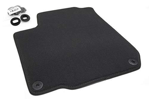 Fußmatte passend für Golf 4 IV Premium Velours Qualität Automatte schwarz Fahrermatte