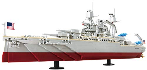 IMEX Oxford USS Arizona US Battleship BB-39 (1075 Pieces)