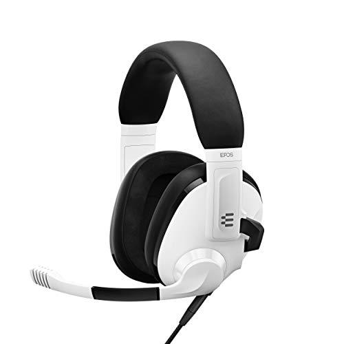 EPOS Auriculares Gaming Modelo H3 – Auriculares con Micrófono con Cancelación de Ruido – Plug & Play - Cascos Gaming Ergónomicos Ligeros y Ajustables para PC, Mac, PS4, PS5, Xbox One, Nintendo Switch