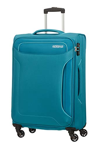 American Tourister Hand Luggage, Turquoise (Petrol Green), 67 centimeters