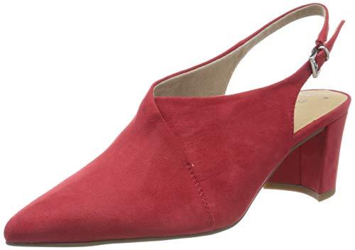 MARCO TOZZI 2-2-29620-24, Sandales Bride arrière Femme, Rouge (Red 500), 41 EU