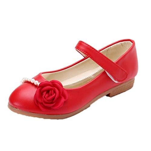 Enfants Sandales Fleurs Perles pour Enfants Mignons Princesse Mariage Partie Simple Chaussures Printemps et Automne Sandales décontractées en Plein air
