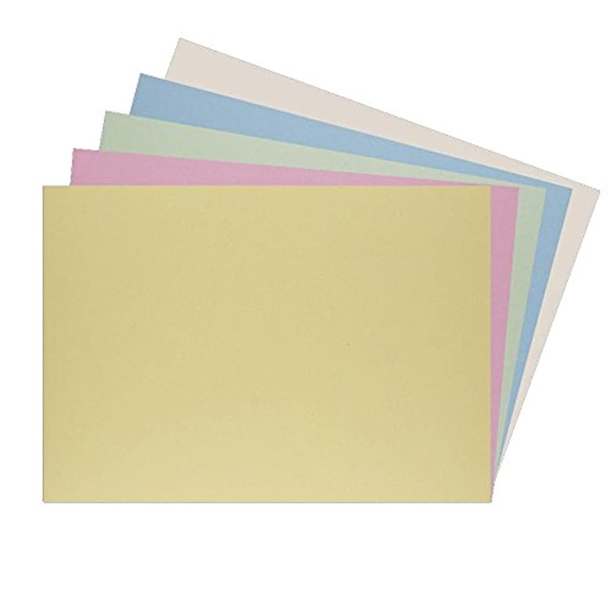 House of Card & Paper A4 220 GSM Card - Assorted Pastel (Pack of 25 Sheets)
