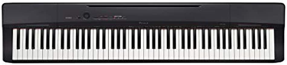 Casio Privia PX-160BK 88-Key Full Size Digital Piano with Power Supply, Black