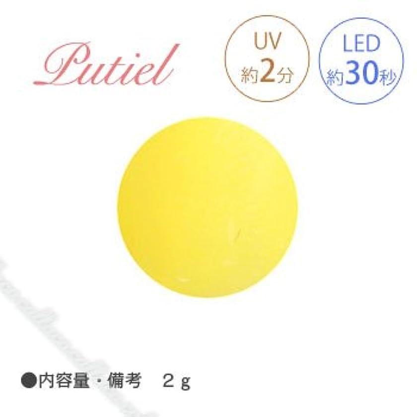自伝倒産弾薬Putiel プティール カラージェル 135 レモン 2g