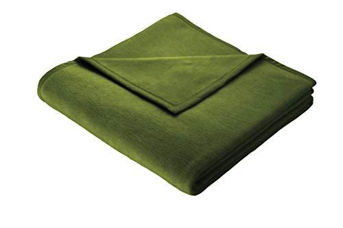 biederlack Wohndecke Cotton Home 9 | Pesto - 150 x 200 cm
